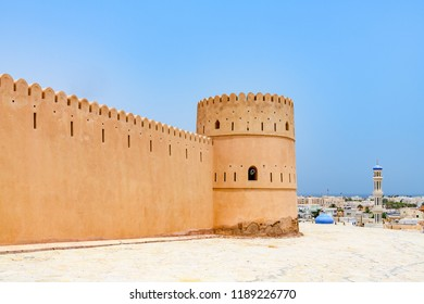 Sunaysilah Fort in Sur, Oman. It is located about 150 km southeast of the Omani capital Muscat.