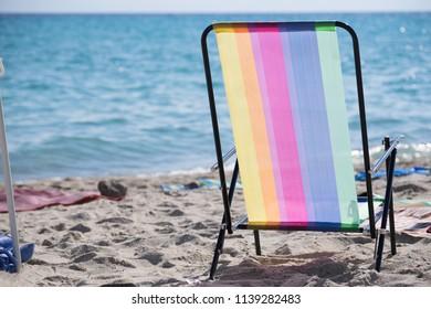 sunbead on the beach