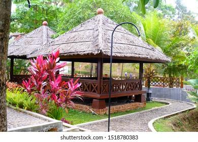 Sundanese traditional gazebo for food