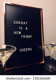 Sunday Quote, fun, letter board