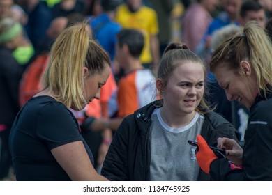 Sunderland, Tyne and Wear / England - May 13th 2018 : Sunderland 10k run event.