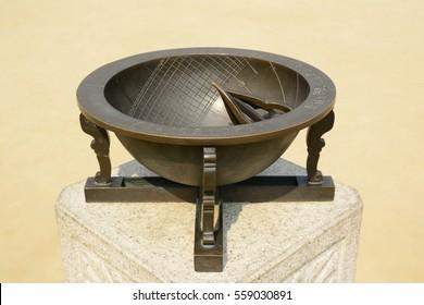 sundial in korea