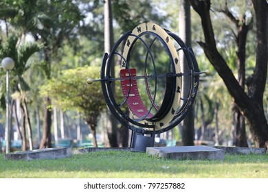 sundial in the park