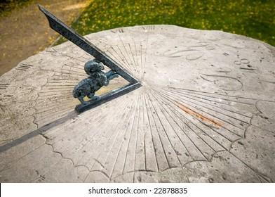 Sundial in Radziejowice, Poland