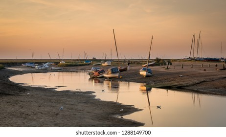 Sundown at Blakeney in Norfolk