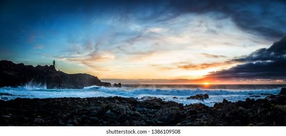 Sundown on Tenerife - Punta de Teno