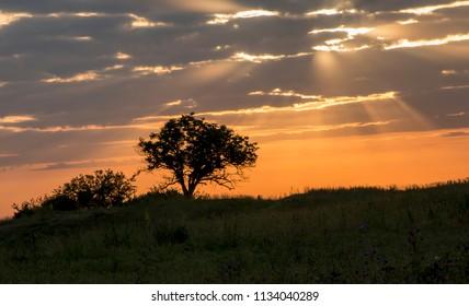 Sundown and sunrises