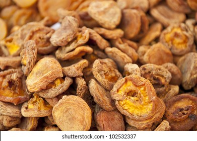 Sun-dried apricots.