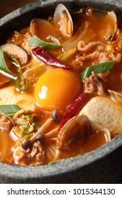 Sundubu Jjigae, Korean stew