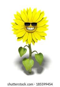 Sunflower - 3D