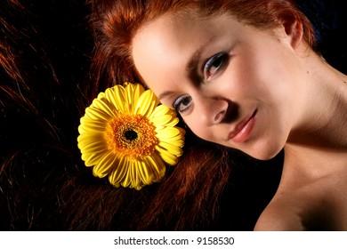 sunflower hairs