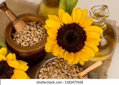 Sunflower seeds and oil have medicinal properties.