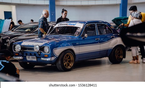 Sungai Besi, Kuala Lumpur - Oct 12 2019: Ford Escort from Fast and Furious movie at Drive 4 Paul event