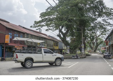 """SUNGAI LEMBING, PAHANG on DEC 18, 2015.Sungai Lembing is a tin mining town 42 km northwest of Kuantan in Pahang, Malaysia. Lembing is Malay for spear, and """"sungai"""" means river."""