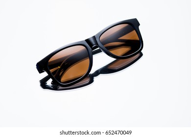 Sunglasses for catalog on a background with a gradient