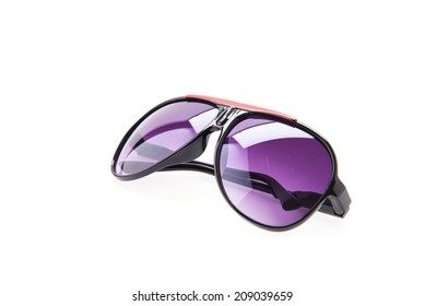 Sunglasses eyewear isolated on white