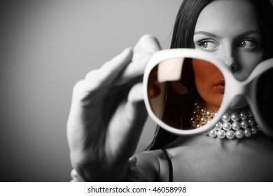 Sunglasses fashion woman