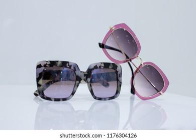 Sunglasses. Few sunglasses
