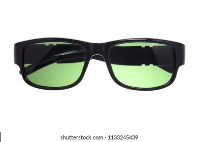 d9a6c05241a8 Sunglasses isolated on white background.