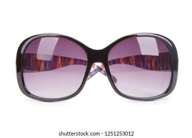 Sunglasses isolated on a white background.