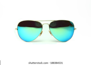 Sunglasses isolated on the white background.