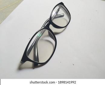sunglasses shot on a white base