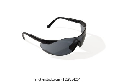 Sunglasses for work. Close-up. Isolated on white background.