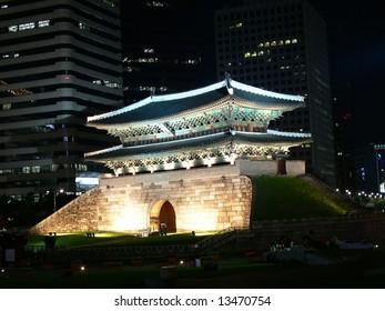 Sungnyemun Gate in Seoul, South Korea