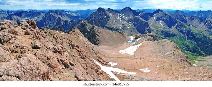 Sunlight Basin, Needle Mountains, Colorado Rockies