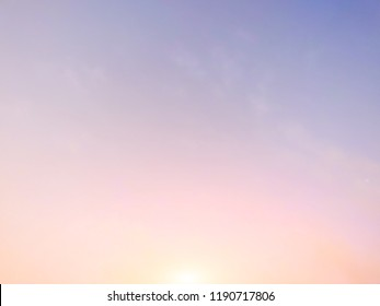 Sunlight and early morning  sky  background