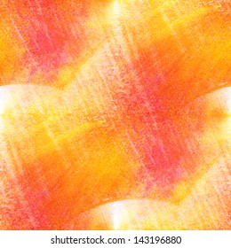 sunlight seamless painting red yellow orange watercolor with bright brushstrokes and blotches