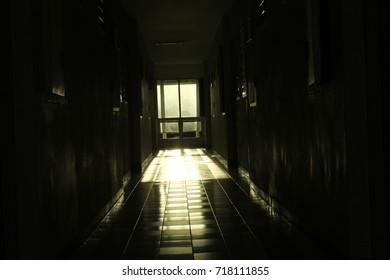 Sunlight through windows in buildings