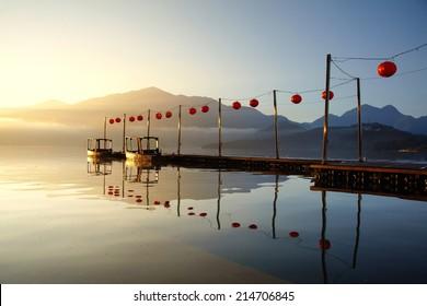 Sun-Moon Lake, morning - Picture of Taiwan