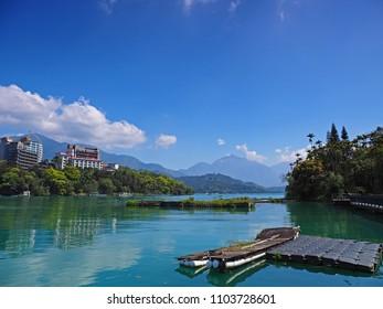 The Sunmoon Lake in Taiwan