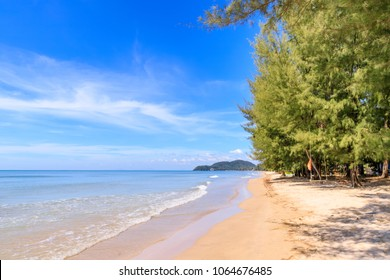 Sunnay sea at Hat Chao Lao beach in Chanthaburi, east of Thailand