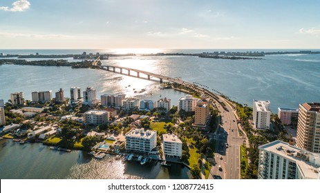 A sunny afternoon in the bayfront city of Sarasota, FL. In Sarasota County October 19th 2018.
