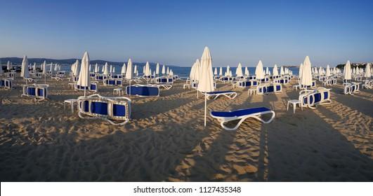 Sunny Beach, Bulgaria panoramic view