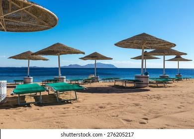 Sunny beaches the Red Sea, Egypt