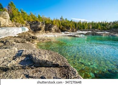 Sunny Clear water bay (Georgian bay)