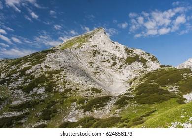 Sunny Day in Alps, Slovenia - Shutterstock ID 624858173