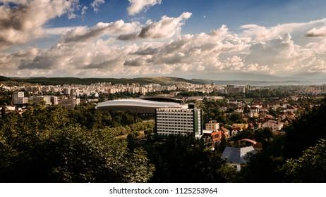 Sunny day in Cluj Napoca