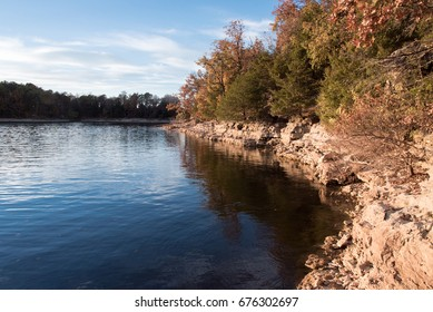 Sunny day at Fellows Lake, Springfield, Missouri