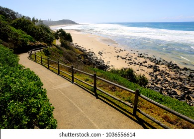 A sunny day at Lighthouse Beach at Ballina on the north coast of NSW Australia.