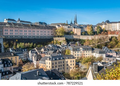 Sunny day in Luxembourg city