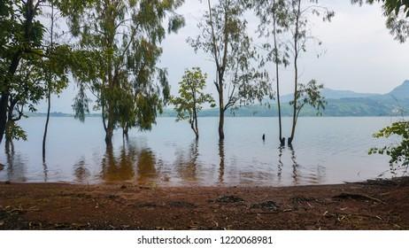Sunny day at Pawna Lake side camping - Lonavala