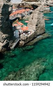 Sunny day in Puglia beach