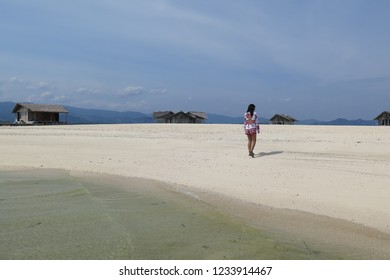 Sunny day at Pulo Cinta, Gorontalo, Indonesia