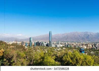 Sunny day in Santiago de Chile