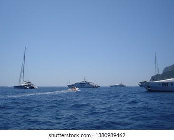 Sunny day at Sea in Italy