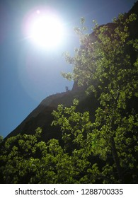 Sunny day at Zion National Park, USA